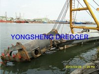 10inch Hytraulic Cutter Suction Dredger Boat