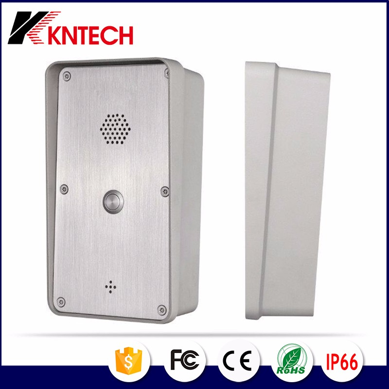 2017 hot selling video door phone intercom KNZD-45 waterproof VOIP telephones