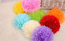 Wholesale Craft Paper Flower For Wedding Decoration All Inch 16 colors