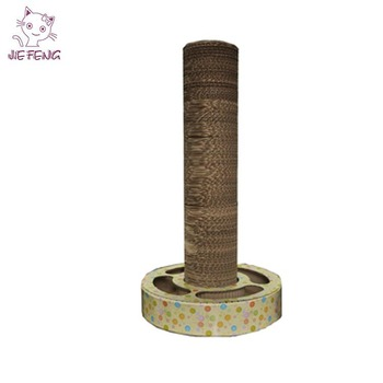 Factory directly provide corrugated cardboard patented cat scratching post