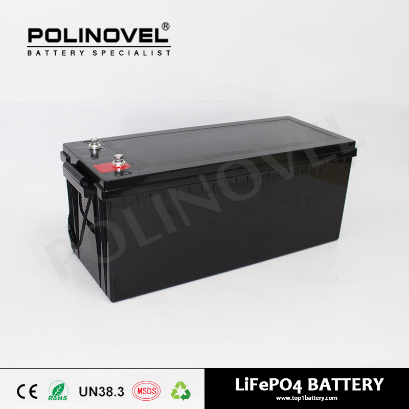 12v 200ah lifepo4 deep cycle solar power energy storage battery