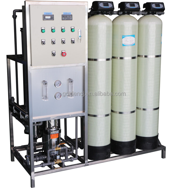 GYR High Desalt Rate RO Water Treatment Plant For Chemical Industry