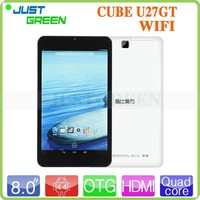 High Performance! Cube 9.7inch Retina Quad Core RAM 1GB/ROM 8GB android 4.4 Wi-Fi Tablet PC pc tablet in stock