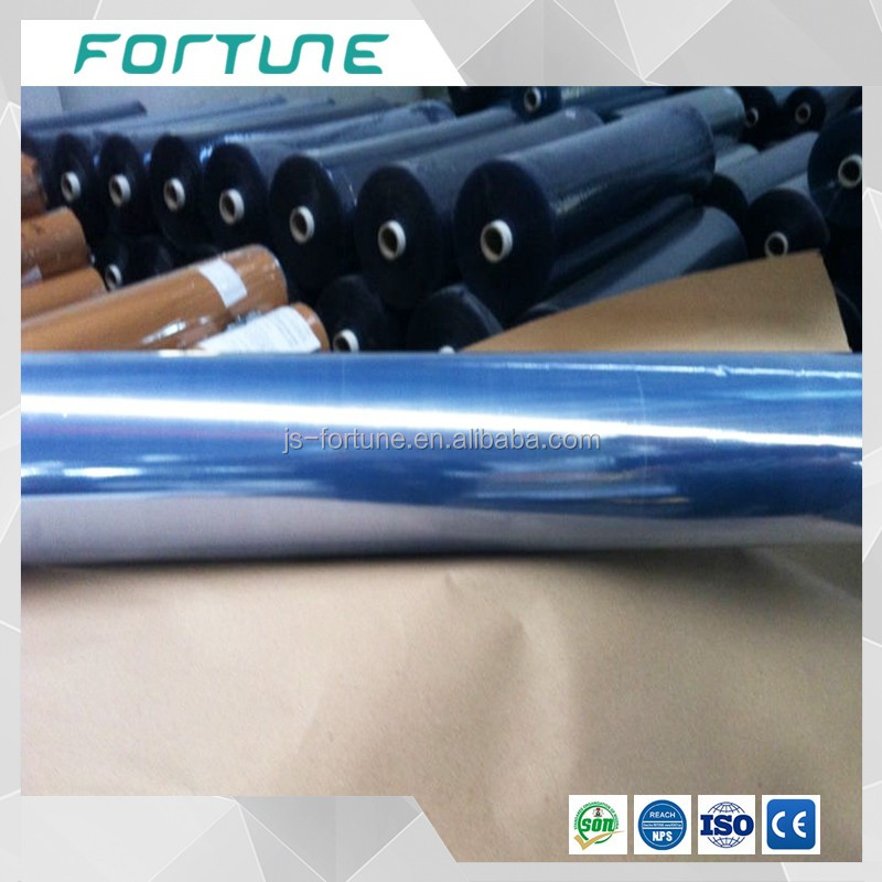 pvc normal clear film for bed mattress packaging 100 meter roll
