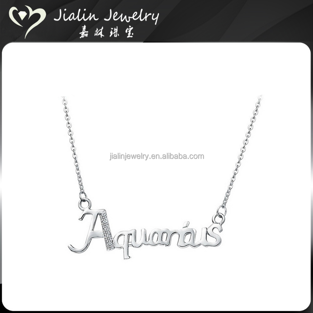Cute 925 silver jewelry 3 best friends necklaces