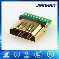 Cheapest hdmi header connector dongguan China supplier