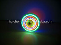 Blazing flashing UFO spinning top with music HC92295