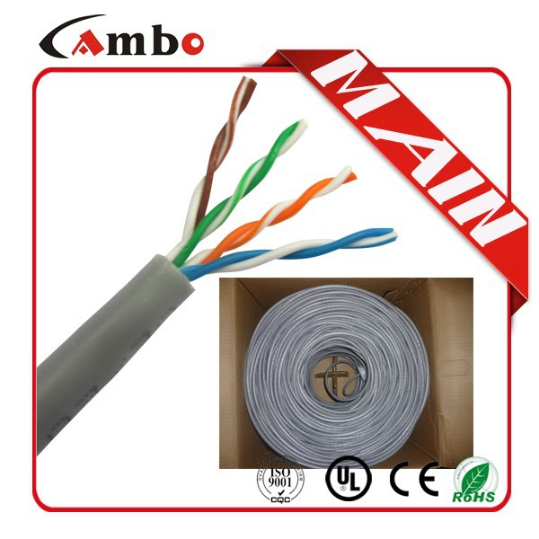 305M/Roll UTP 4PR Internet Cable Box LAN Cable 5E Kabel UTP Cat5e Indoor Cat5e Cable