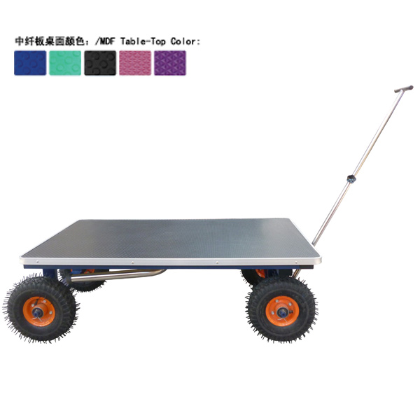 2014 outdoor dog Pet grooming table with Inflatable wheels N-301W