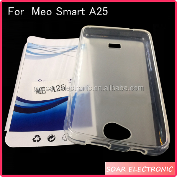 [Soar]Latest Matte Pudding TPU Case For Meo Smart A25, Silicone Gel Cover For Meo Smart A25