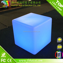 LED colorful cube cube/RGB color change