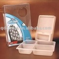 Hardware Tray disposable transparent PVC package blister container