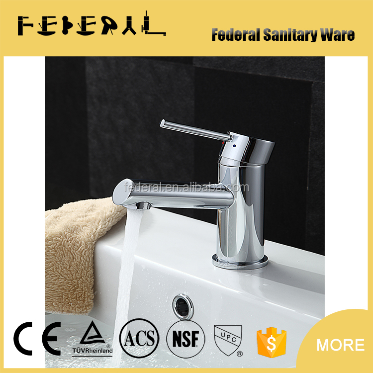 Round Shape Basin Faucet for Chrome Plating Finish