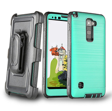 For LG phone cases best buy ,for LG G stylo 2 cases bulk stock brushed phone cover