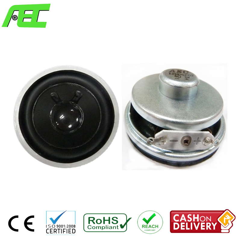 free sample 50mm 3w 4ohm mini multimedia speaker driver