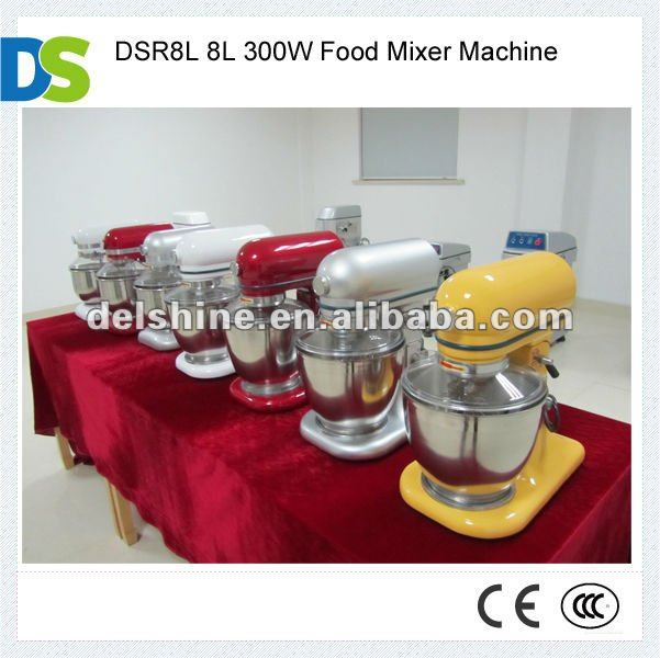 DSR8L 8L 300W Food Mixer Machine
