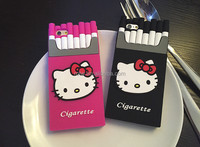 Wholesale hello kitty cell phone case,3D Silicon case For Samsung S3/S4/S5/S6/N2/N3/N4
