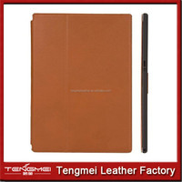mannetic PU leather case for sony xperia Z tablet,stand cover for sony xperia z tablet