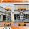 Competitive price mobile scissor lift platform, hydraulic lift table for sale