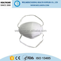 different types of disposable respirator dust masks fit test