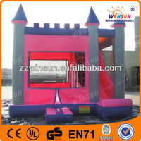 Newest inflatable kids gym castle bounce equipments