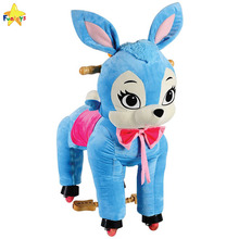 Funtoys CE plastic indoor kids rocking horse toy