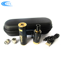 High quality eco-friendly evod electronic cigarette 1100mah vapor starter kits