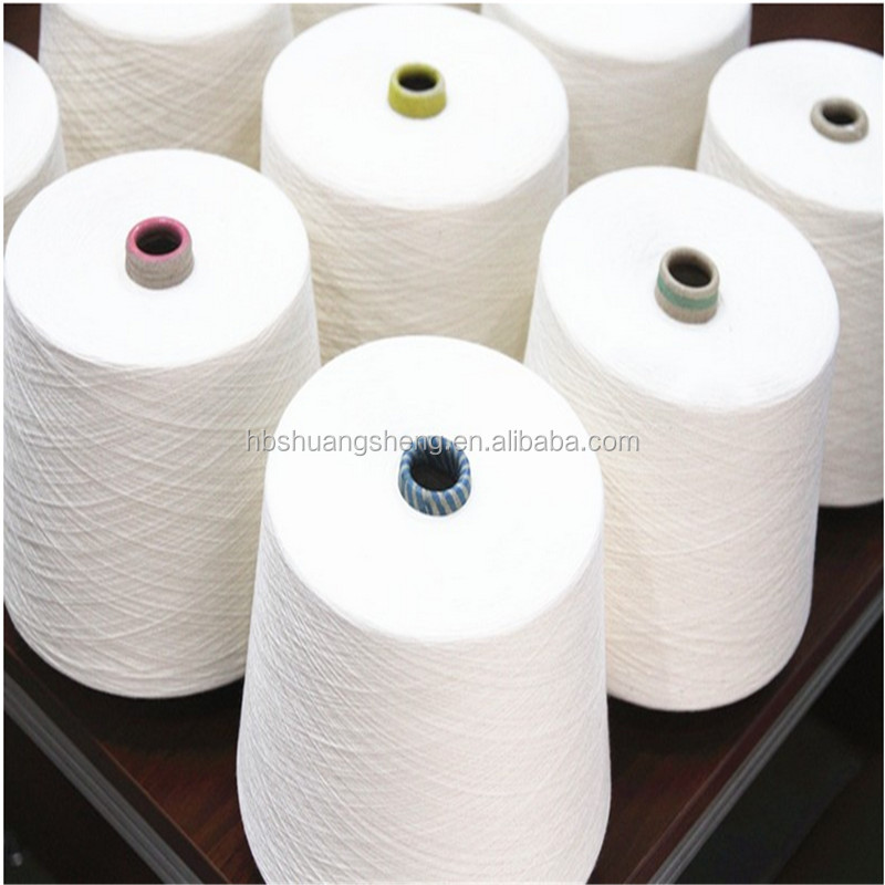 40s 50s 60s 80s 100s 120s 140s 100% combed compact cotton yarn for knitting or weaving