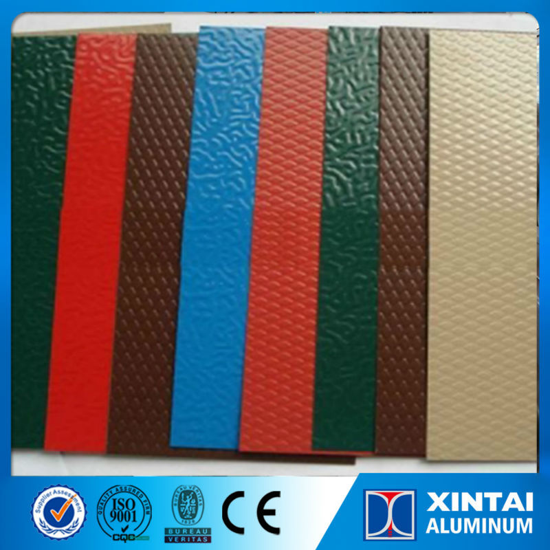A3003 pre coating aluminum sheet roll for aluminum inside roofing and out door construction cladding panel