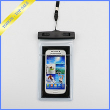Customized Mobile Waterproof Phone Bag Case / PVC bag waterproof case for cell phone
