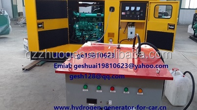 Hot sell PWM 380V double use OxyHydrogen HhO cutting welding & carbon-cleaning machine