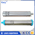 Kary stainless steel 24v dc brushless submersible solar water pump for agriculture