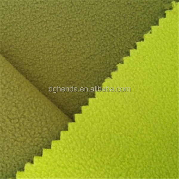 polar fleece fabric bonded polar fleece fabric with TPU film