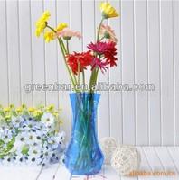 wholesale plastic foldable flower vase