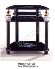 New Arrival Eco-friendly lcd/plasma tv stand tv table furniture tempered glass design