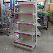 wire hooks store display shelves supermarket wire shelf