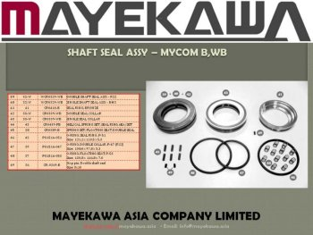 Mycom B,WB Shaft Seal assy