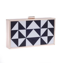 Fashion Nice Acrylic Box Clutch Purse Of Evening Bags For Ladies Party