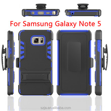 wholesale! hybrid rugged hard case cover for Samsung Note 5 case 2 in1 armor cell phone case