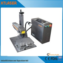 Hot sale portable mini 20W 30W 50w fiber laser marking machine for metal
