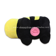 Factory Personalized Brand toy stuffed animated soft bee coin saver