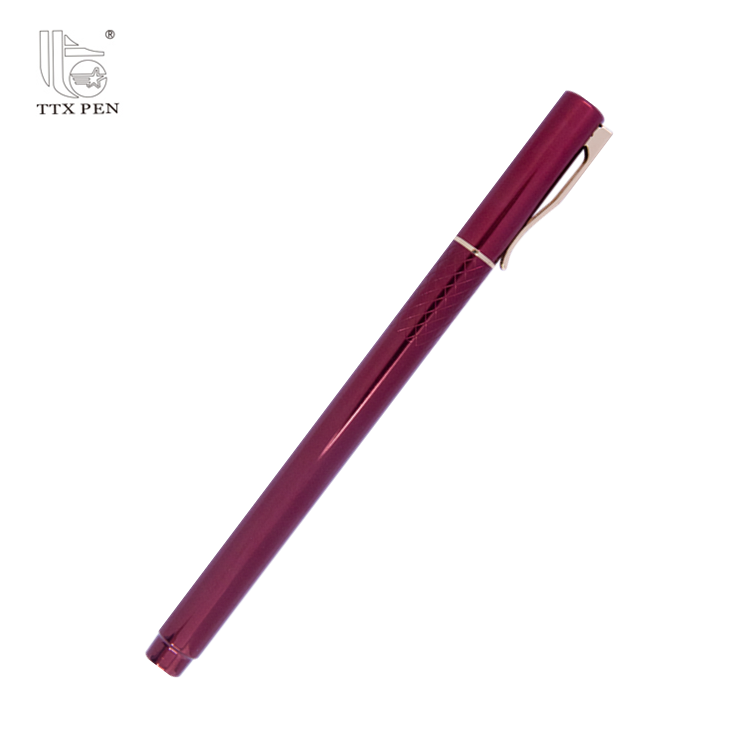 Novel design nice ball pen roller pen metal pen set with your logo design