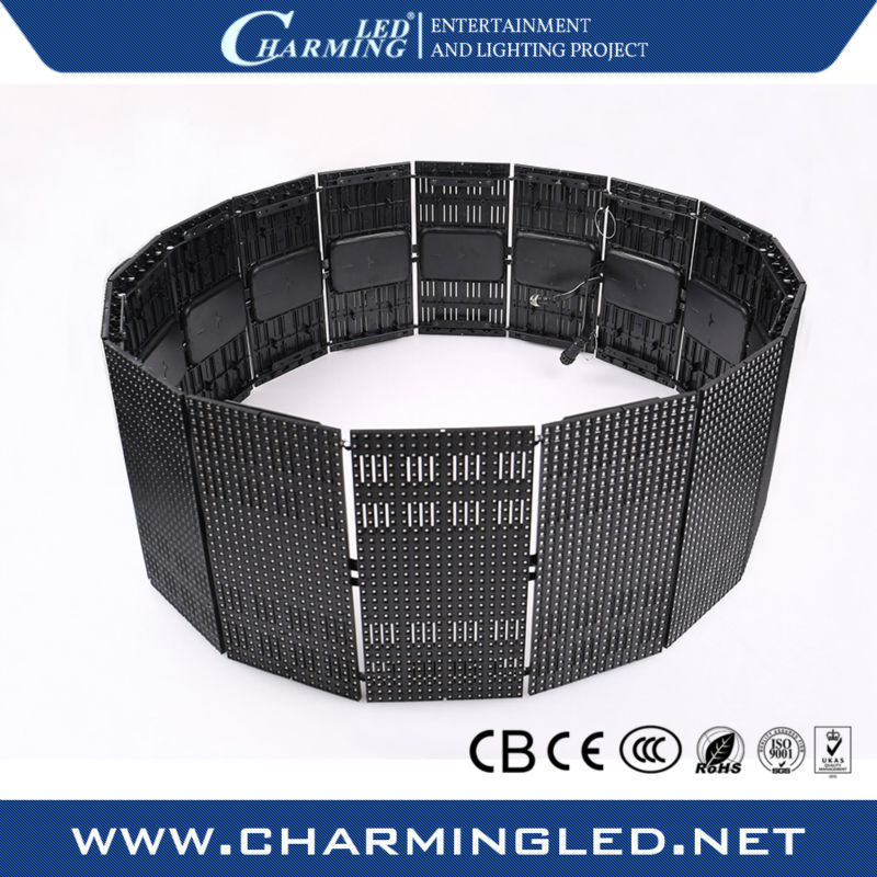Hot selling P9 programmable/flexible led dot matrix for stage