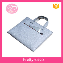 100% Polyester felt material eco tote laptop bag