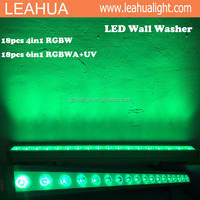 18x10w colorbar Outdoor Linear RGBW LED Wall Washer