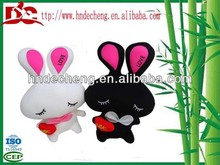 Car interior accessory place adorn lcute love rabbit with wonderful design