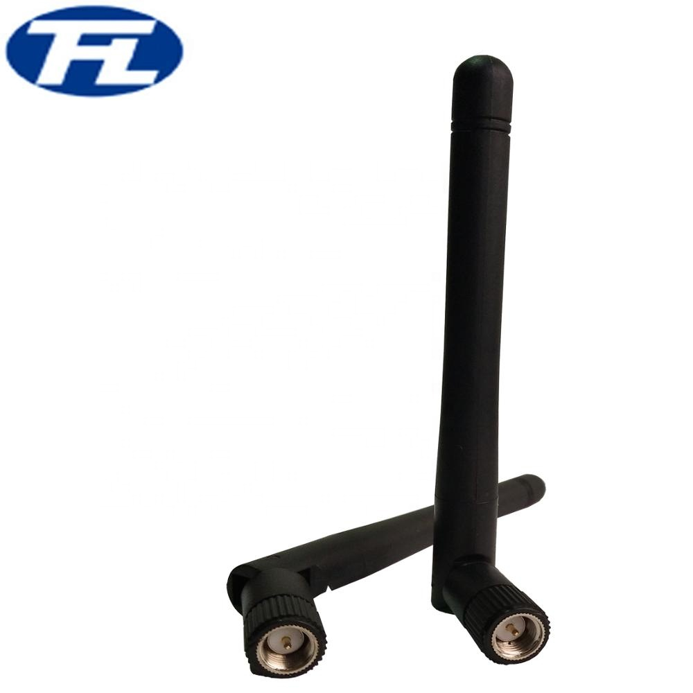 Omni directional screw bending wifi antenna with SMA connector