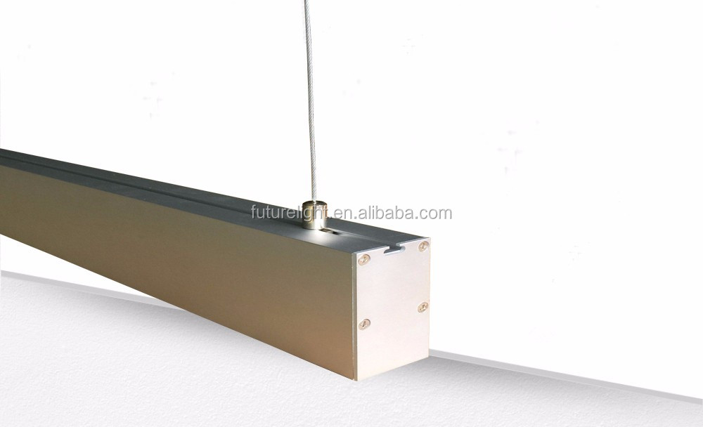 New designed led office interior lighting of 1.2m 72w led linear pendant light