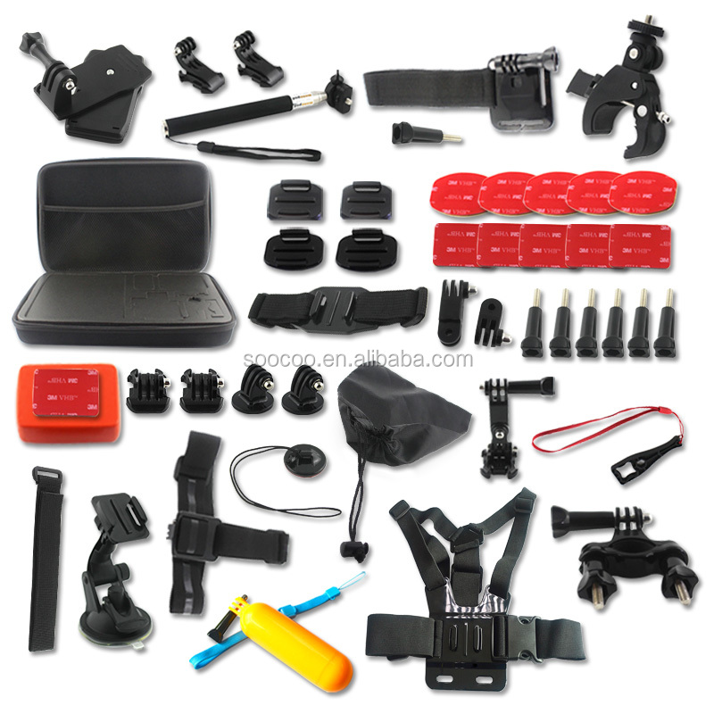Go Pros Accessories For SOOCOO Go Pro XiaoMiYi Action Camera