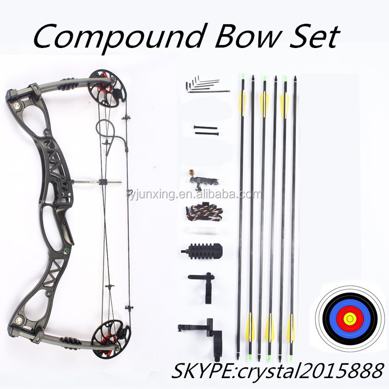 how to set a compound bow